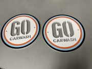 Go Car Wash Towel Plates